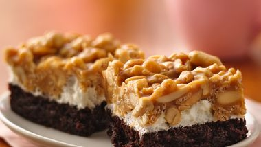 Brownie Peanut Chews