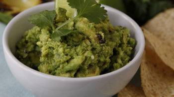 Grilled Guacamole