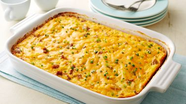 Overnight Country Sausage and Hash Brown Casserole
