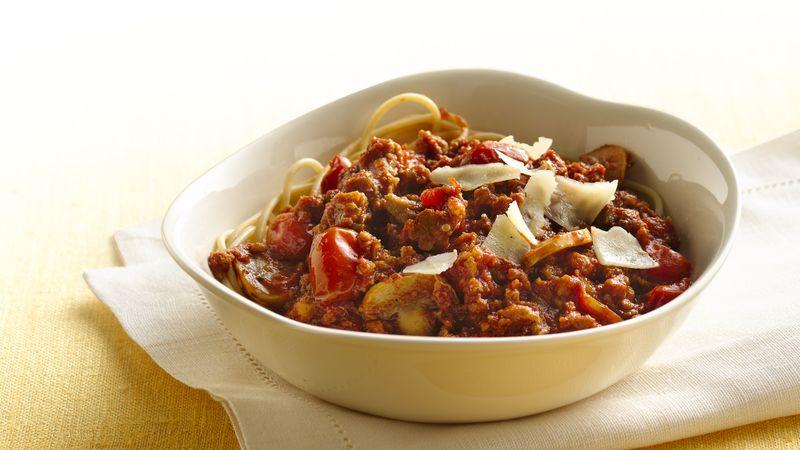 Slow-Cooker Veggie Marinara