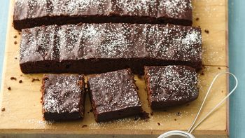 Skinny Chocolate Lovers' Brownies