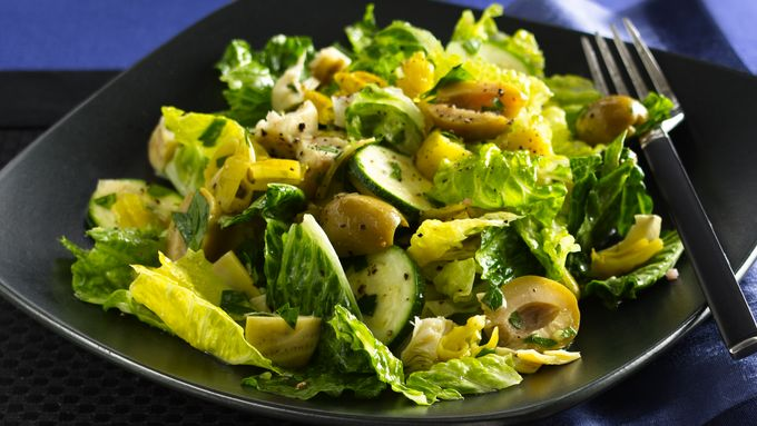Italian Olive and Peppers Salad