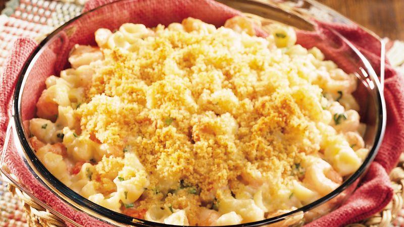 Creamy Shrimp and Shell Pasta