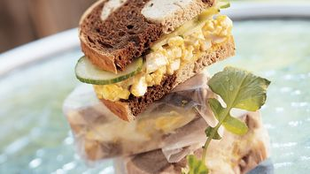 Curried Egg Salad Sandwiches