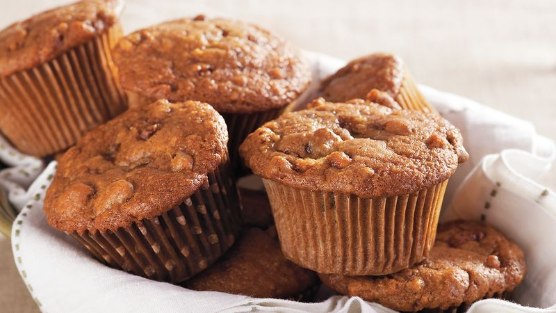 Candied Walnut Date Muffins