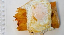 Tamales Fritos con Huevo