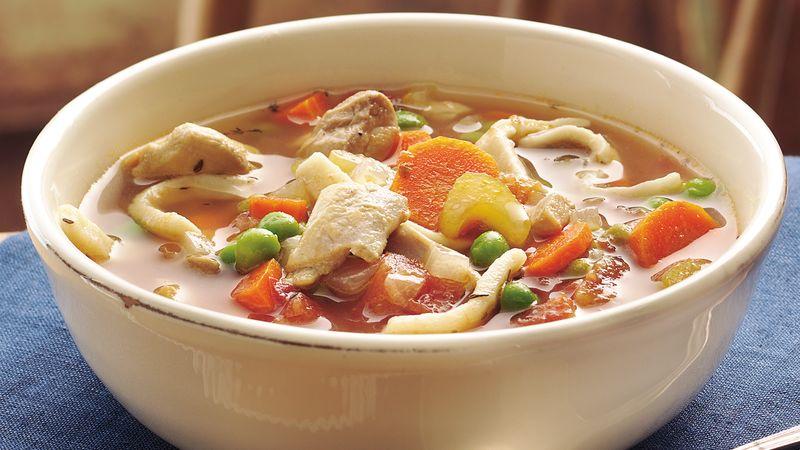 Grandma's Slow-Cooker Chicken Noodle Soup