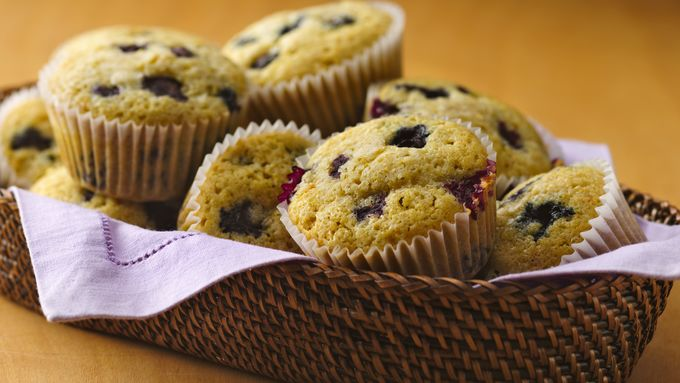 Gluten-Free Blueberry Corn Muffins recipe - from Tablespoon!
