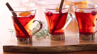 Hot Cranberry-Apple Cider