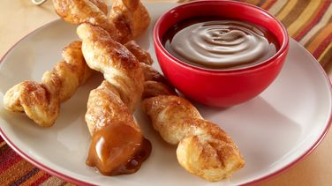 Baked Churros with Dip