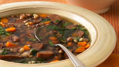 Slow-Cooker Black-Eyed Pea and Sausage Soup