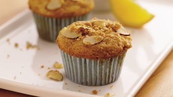 Orange-Almond Streusel Muffins