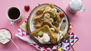 French Toast Crunch™-Coated French Toast