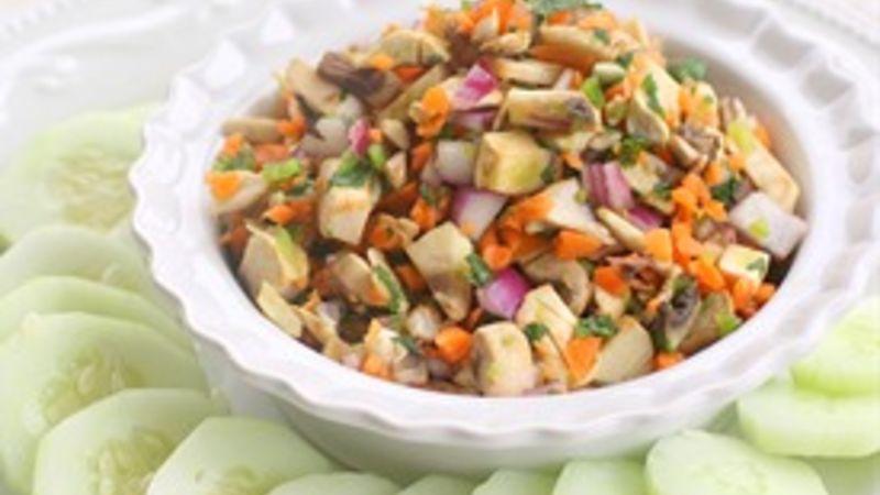 Healthy Mushroom Salsa