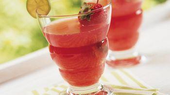 Cranberry-Strawberry Margarita Punch