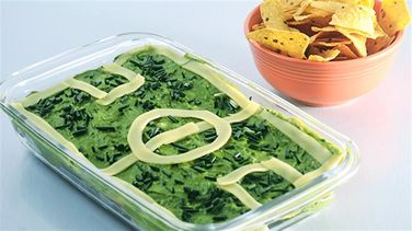 Guacamole Dip Soccer Pitch