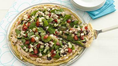 Mediterranean Quick Pizza