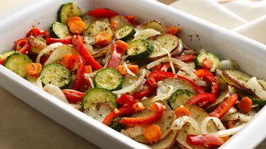 Verduras Mixtas al Horno