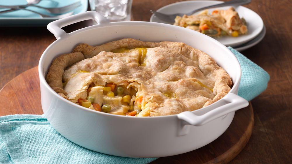 Savory Chicken Pot Pie