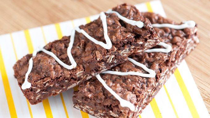 Oatmeal Brownie Bars