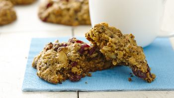 Seedy Breakfast Cookies