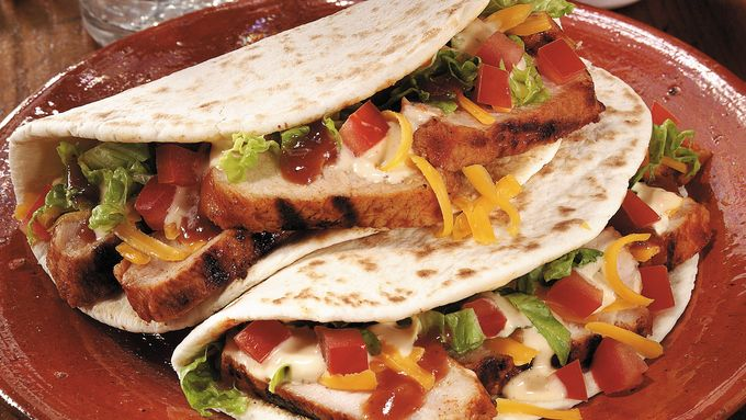 Grilled Pork Gorditas