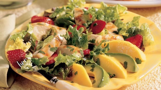 Grilled Margarita Chicken Salad