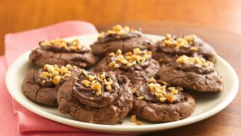 Fudgy Chocolate-Peanut Butter Thumbprints