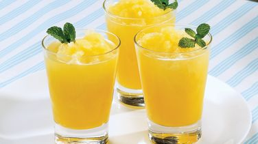 Bebida de Naranja y Menta