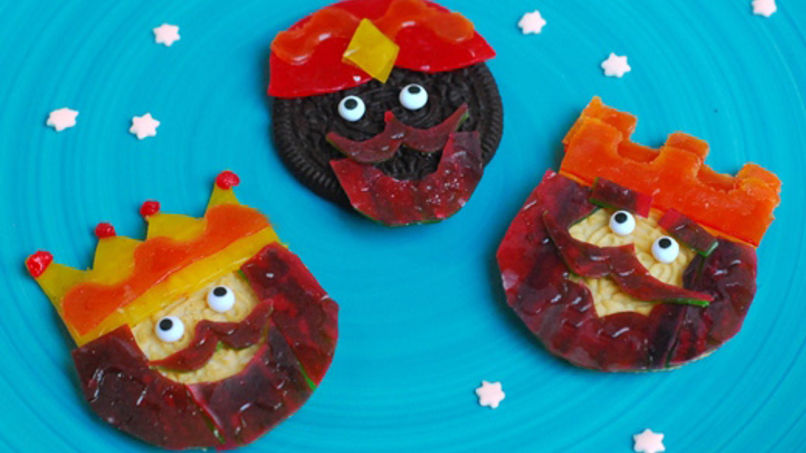 Galletas de Los Reyes Magos con Fruit by the Foot®