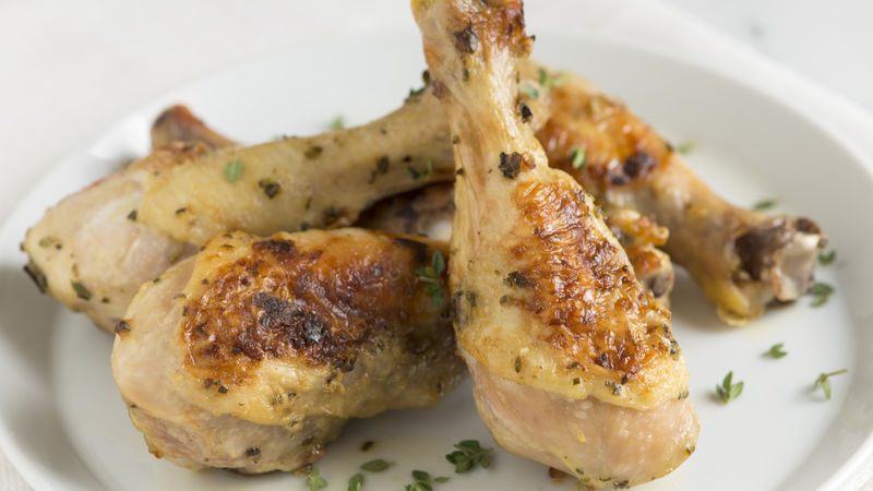Baked Herb Chicken Drumsticks