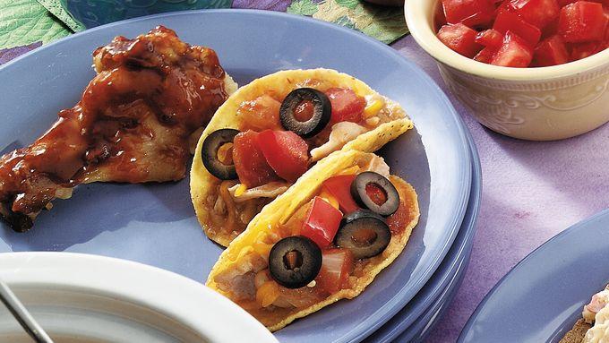 White Chili Mini Tacos