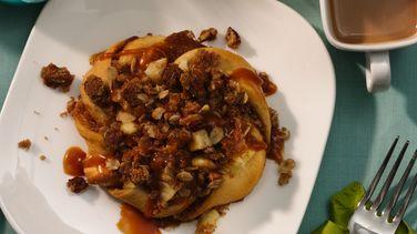 Caramel Apple Crisp Tarts