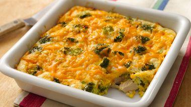 Tuna and Broccoli Bake