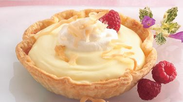 Coconut-Lemon Cream Tartlets