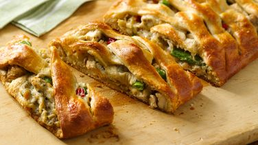 Italian Chicken Braid