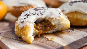 Pumpkin Pie Filled Donuts