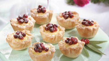 Pomegranate Tartlets