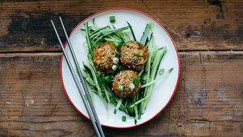 Freezer-Friendly Teriyaki Chicken Meatballs
