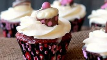 Tres Leches Red Velvet Cupcakes