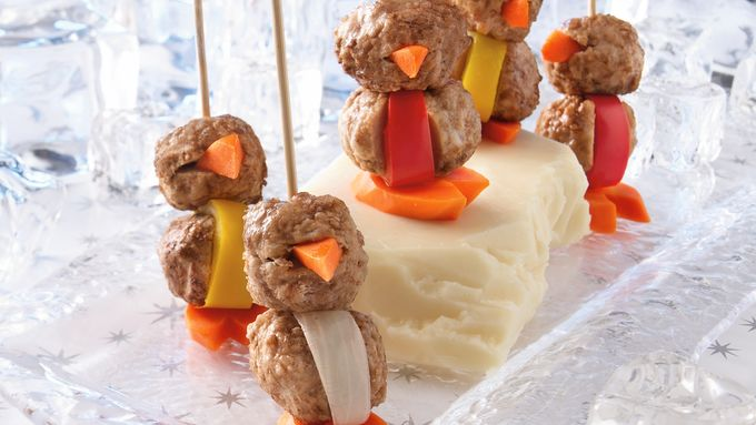Penguin Meatballs