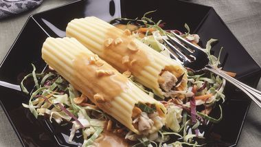 Asian Chicken Manicotti Salad