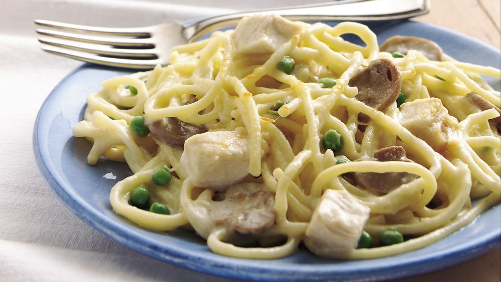 Chicken Tetrazzini (Cooking for Two)