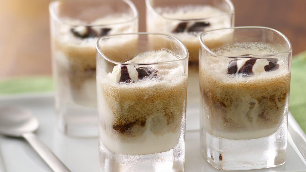 Stout Beer-Ice Cream Mini Floats