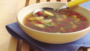 Thai-Style Chicken Curry Soup