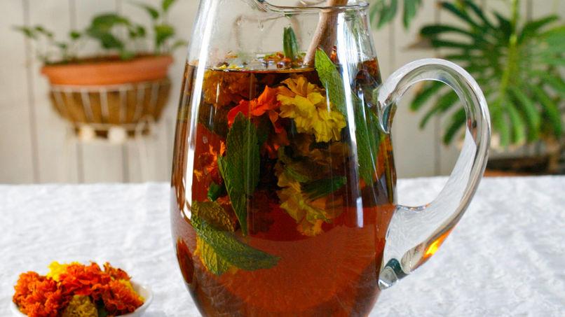 Marigold Mint Tea