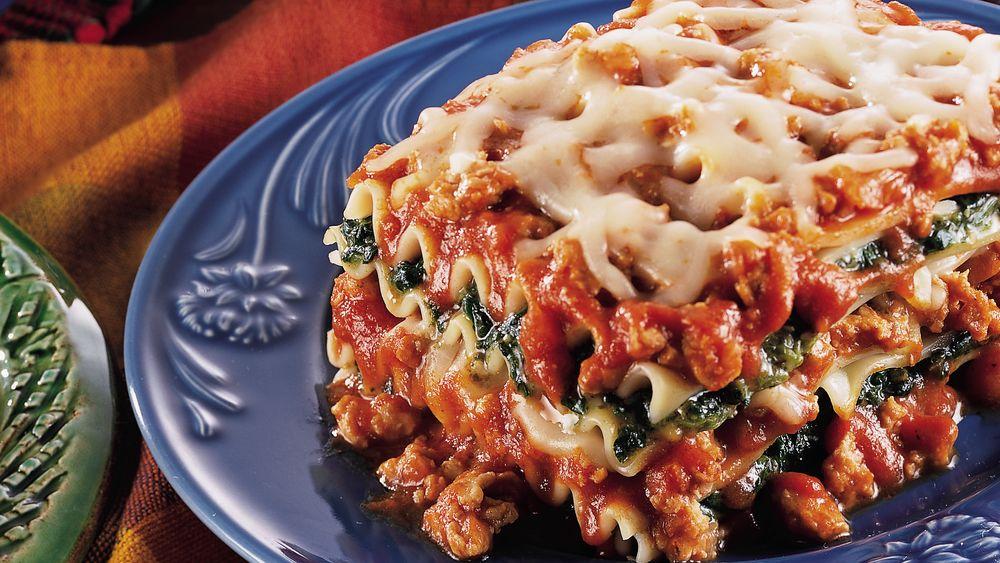 Spinach-Chicken Lasagna