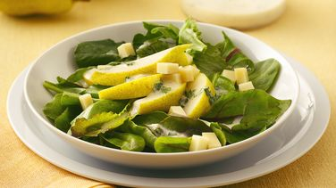 Pear Salad with Creamy Vinaigrette
