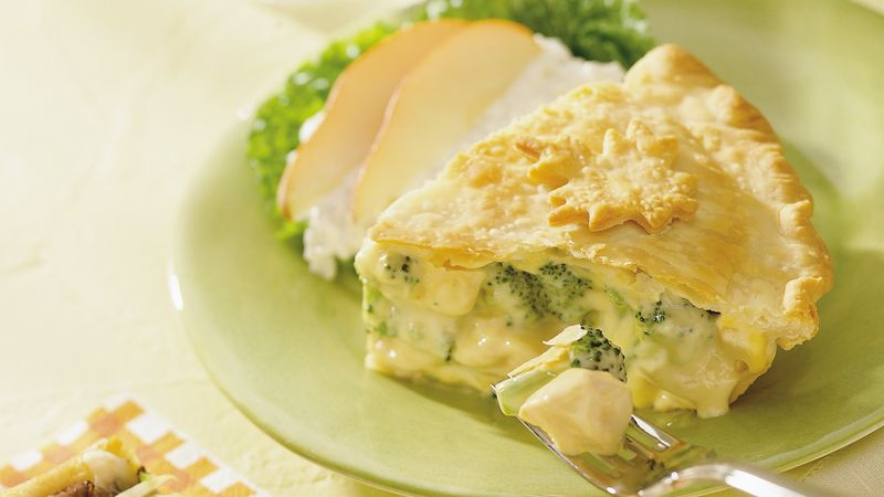 Chicken Divan Pot Pie