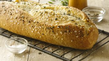Sea Salt and Cracked Black Pepper Italian Loaf